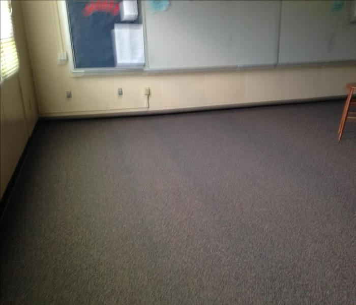 Water Damage in the classroom. After