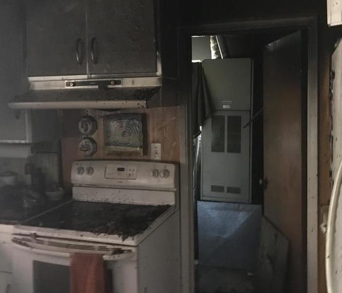 Kitchen Fire in Redland CA